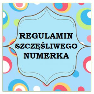 regulamin numerka