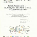 Certyfikat IV edycja MK 2017